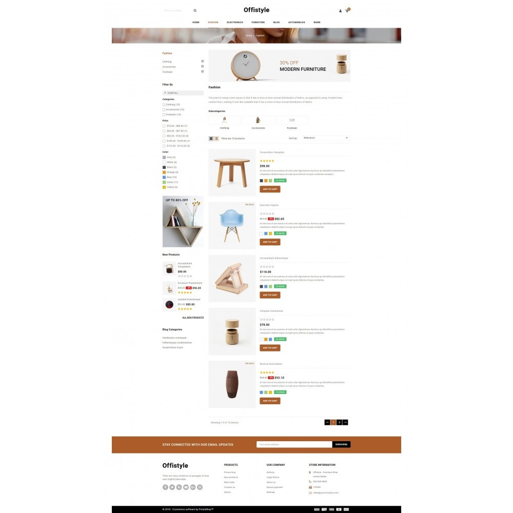 theme - Home & Garden - Offistyle - Furniture Store - 4
