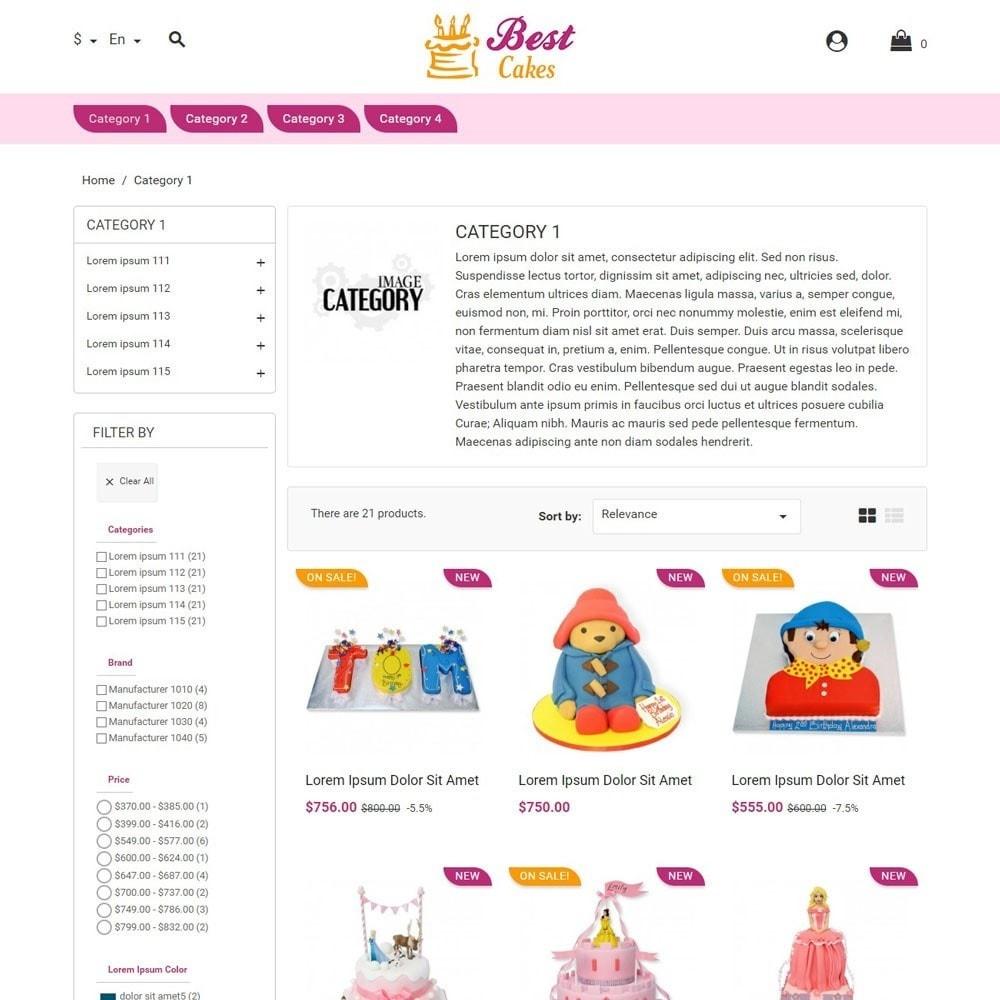 theme - Crianças & Brinquedos - BestCakes - 2