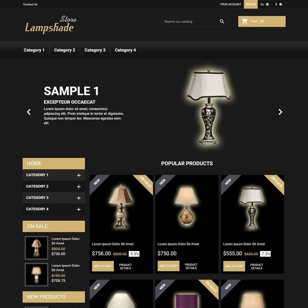 theme - Casa & Giardino - LampshadeStore - 1