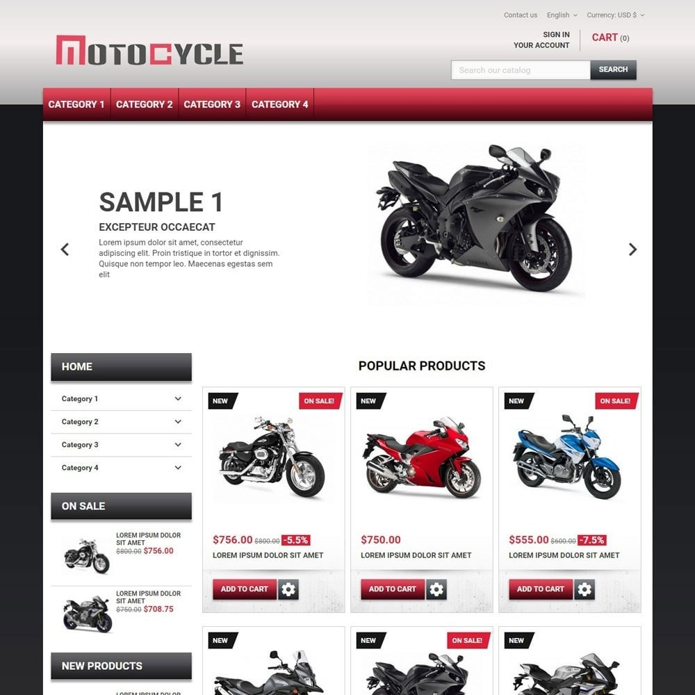 theme - Auto & Moto - MotoCycle - 1