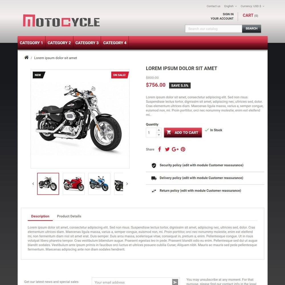 theme - Auto & Moto - MotoCycle - 3