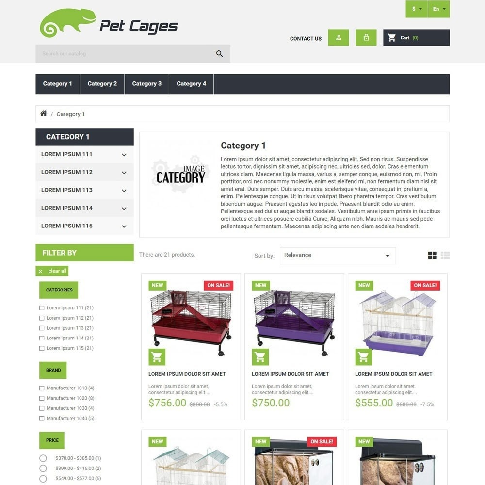 theme - Animales y Mascotas - PetCages - 2