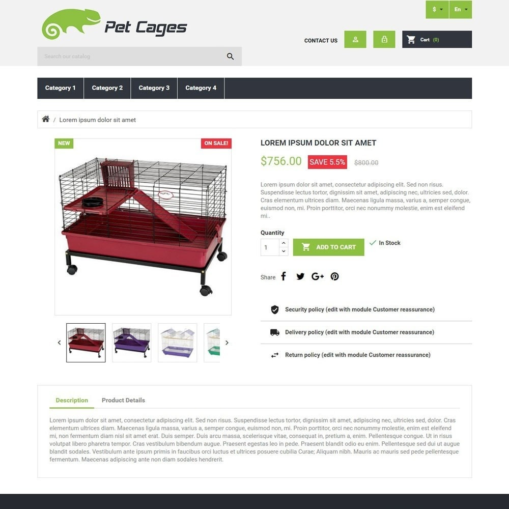 theme - Animales y Mascotas - PetCages - 3