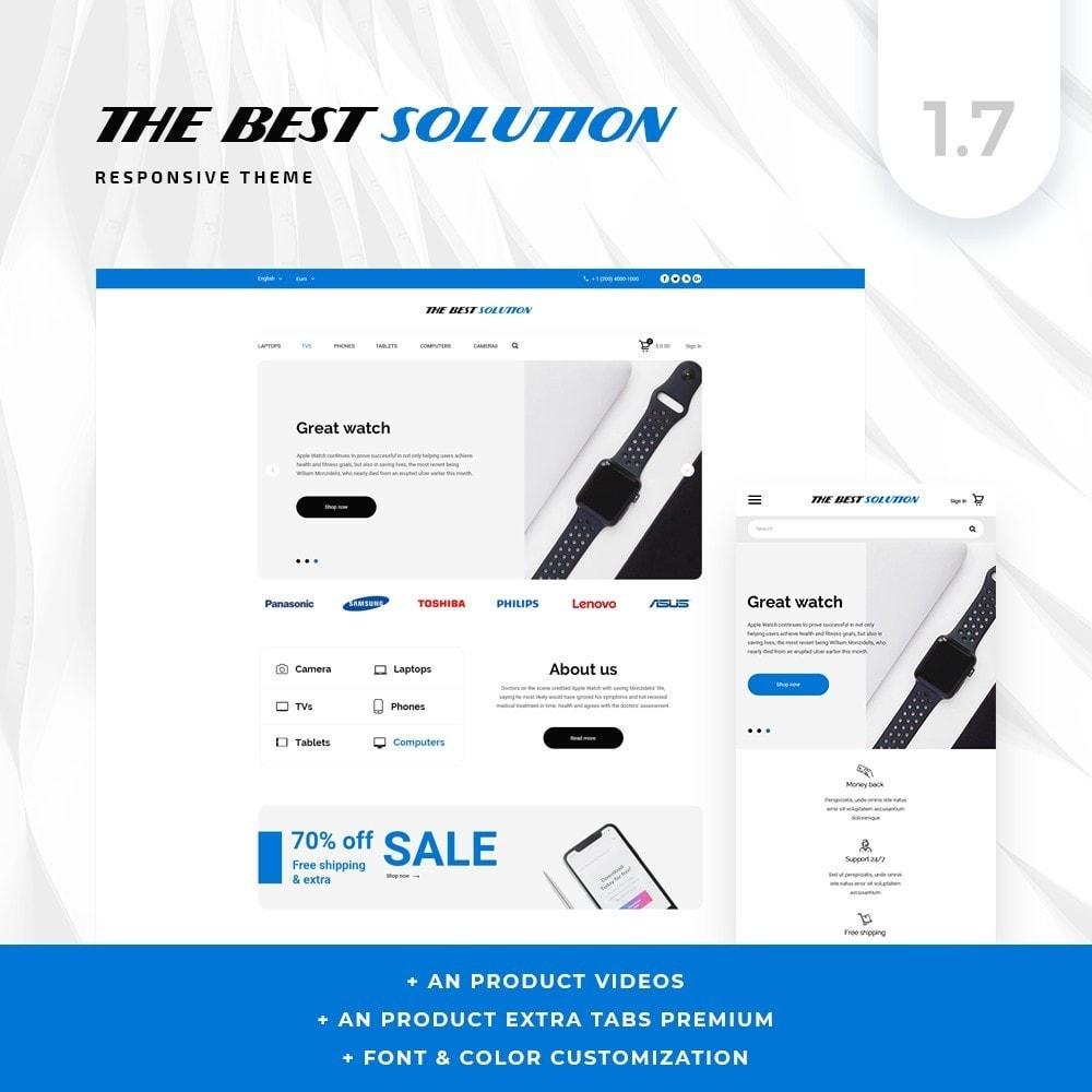 theme - Electronics & Computers - The Best Solution - High-tech Shop - 1