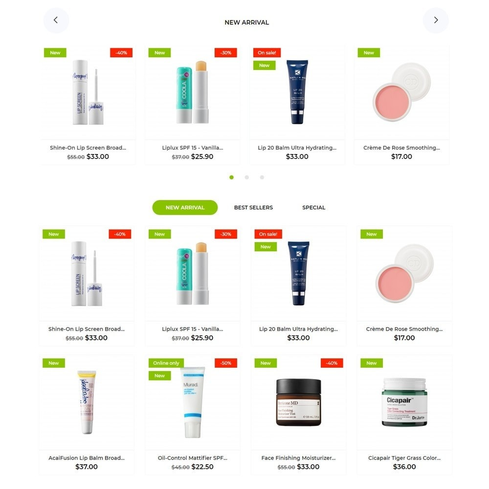 theme - Health & Beauty - Milla Cosmetics - 3