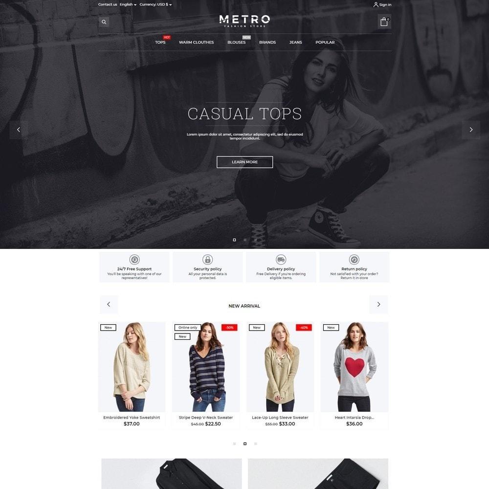 theme - Fashion & Shoes - Metro Fashion Store - 2