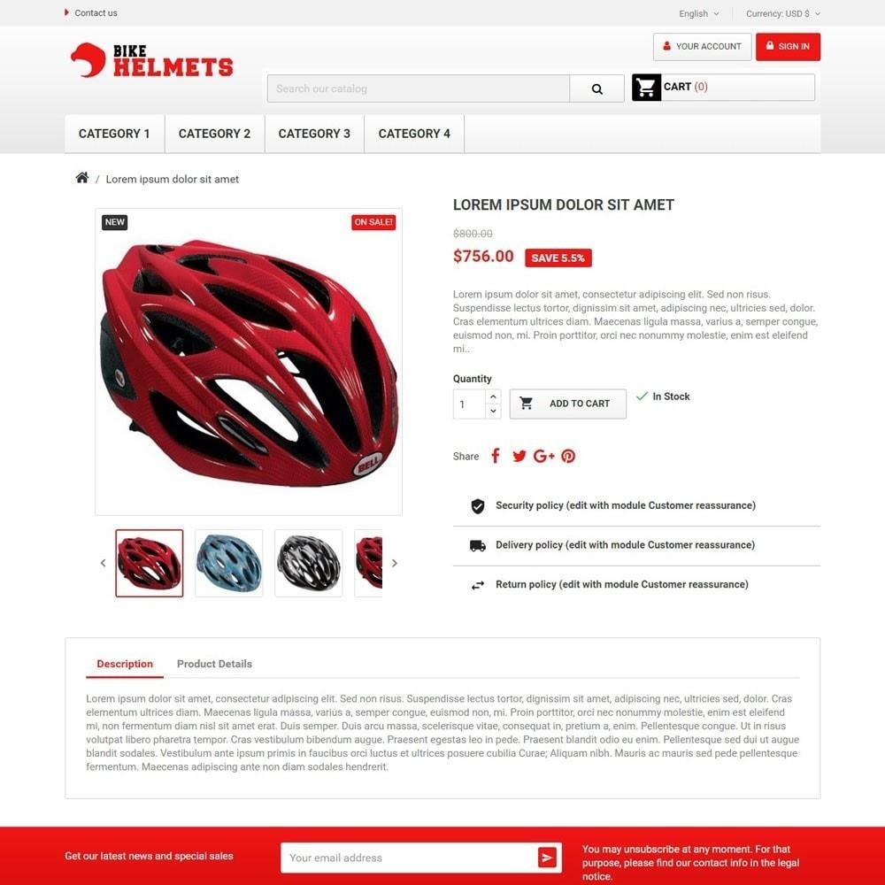 theme - Sport, Rozrywka & Podróże - BikeHelmets - 3