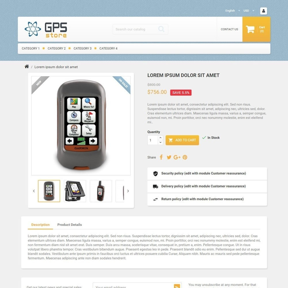 theme - Electronics & Computers - GPSStore - 3
