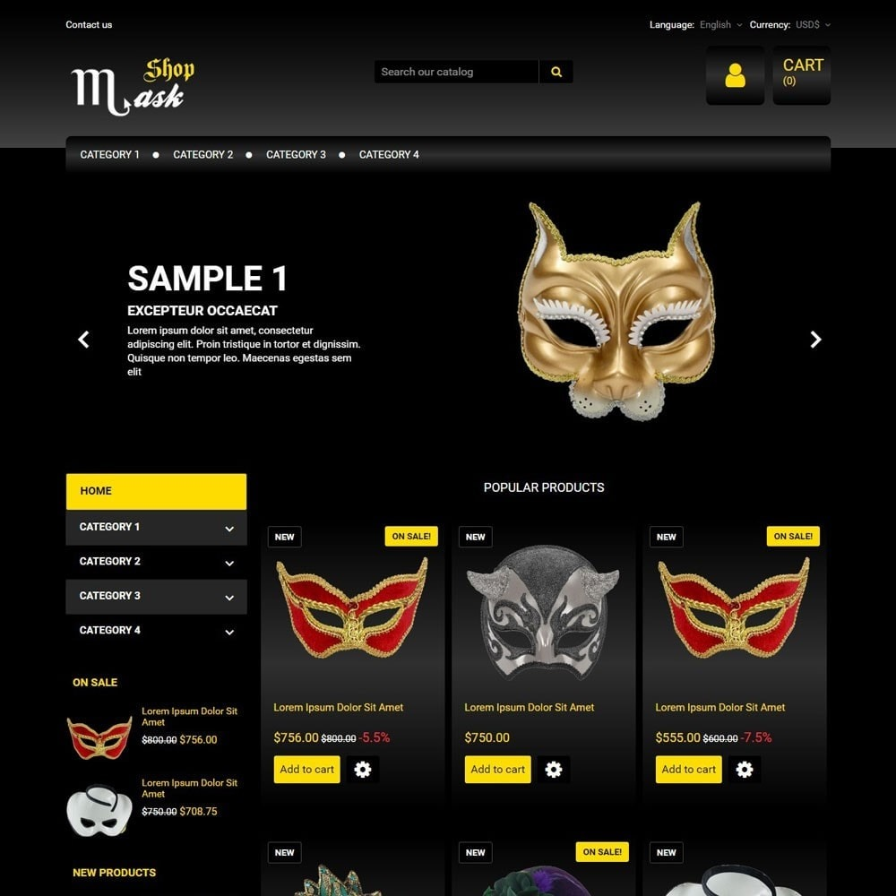 theme - Gifts, Flowers & Celebrations - MaskShop - 1