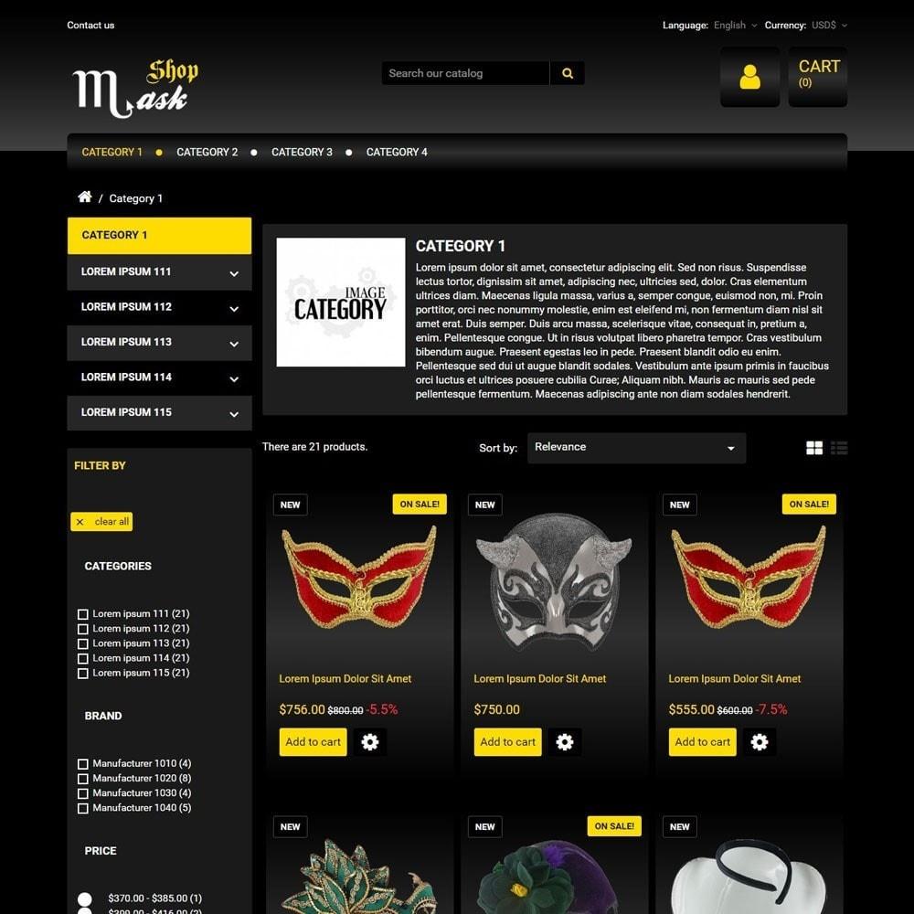 theme - Presentes, Flores & Comemorações - MaskShop - 2