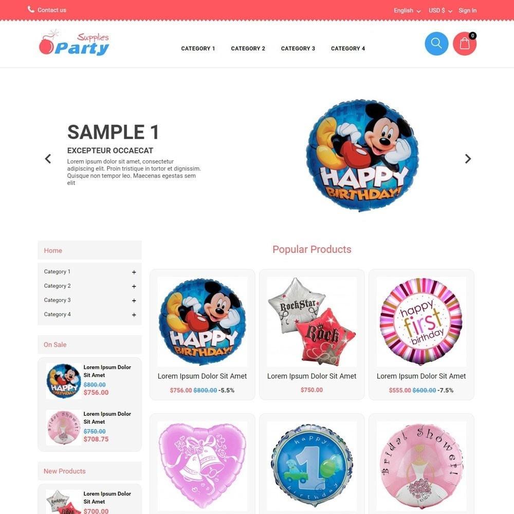 theme - Enfants & Jouets - PartySupplies - 1