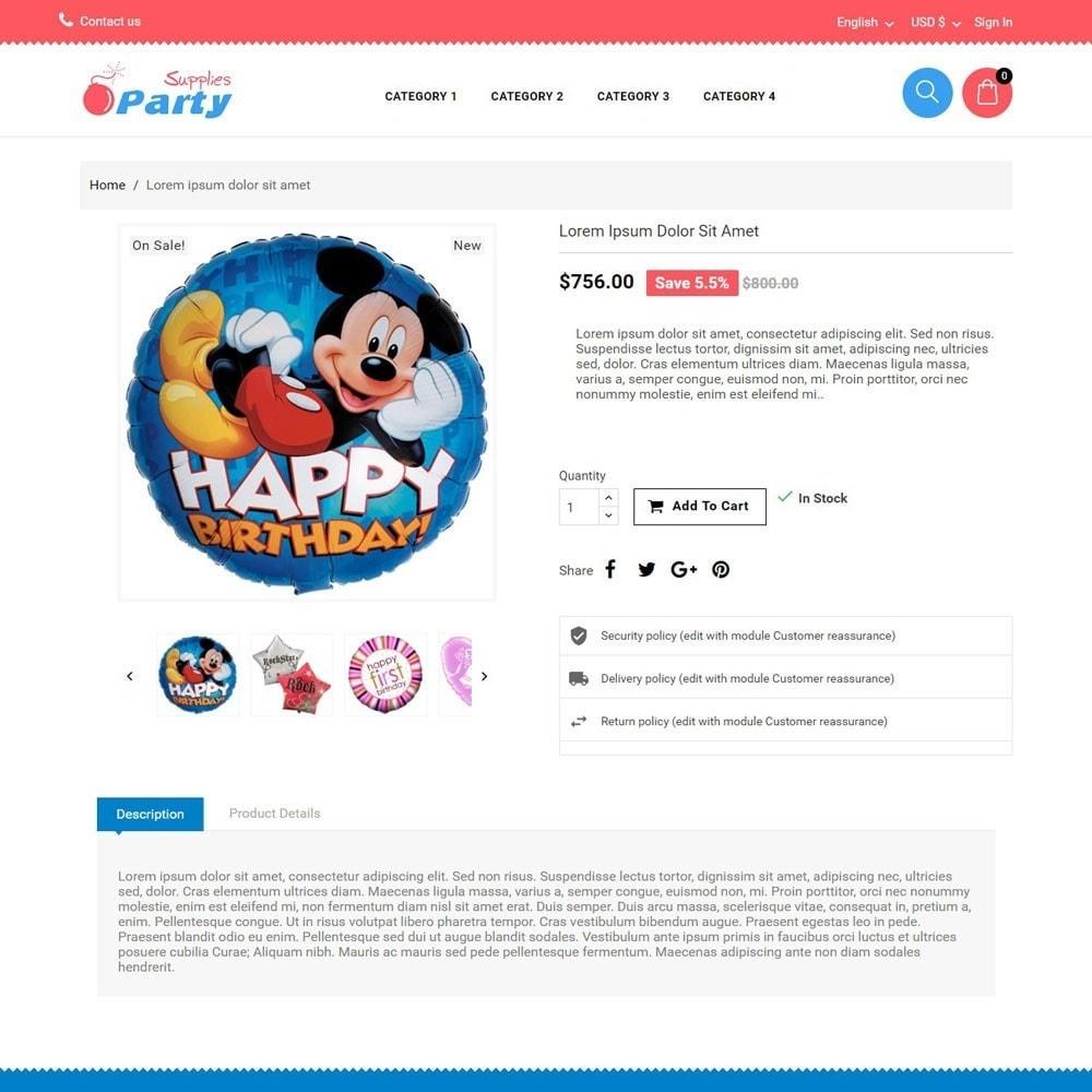 theme - Kinder & Spielzeug - PartySupplies - 3