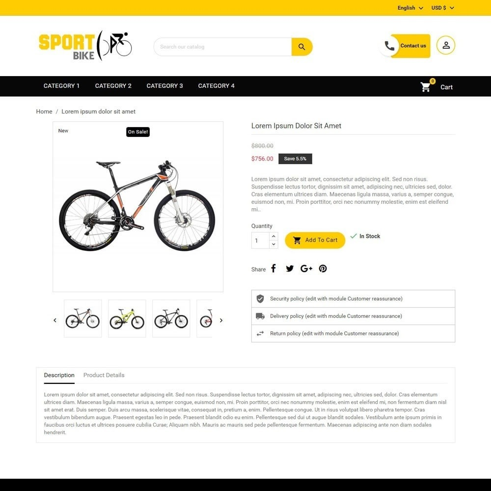 theme - Deportes, Actividades y Viajes - SportBike - 3