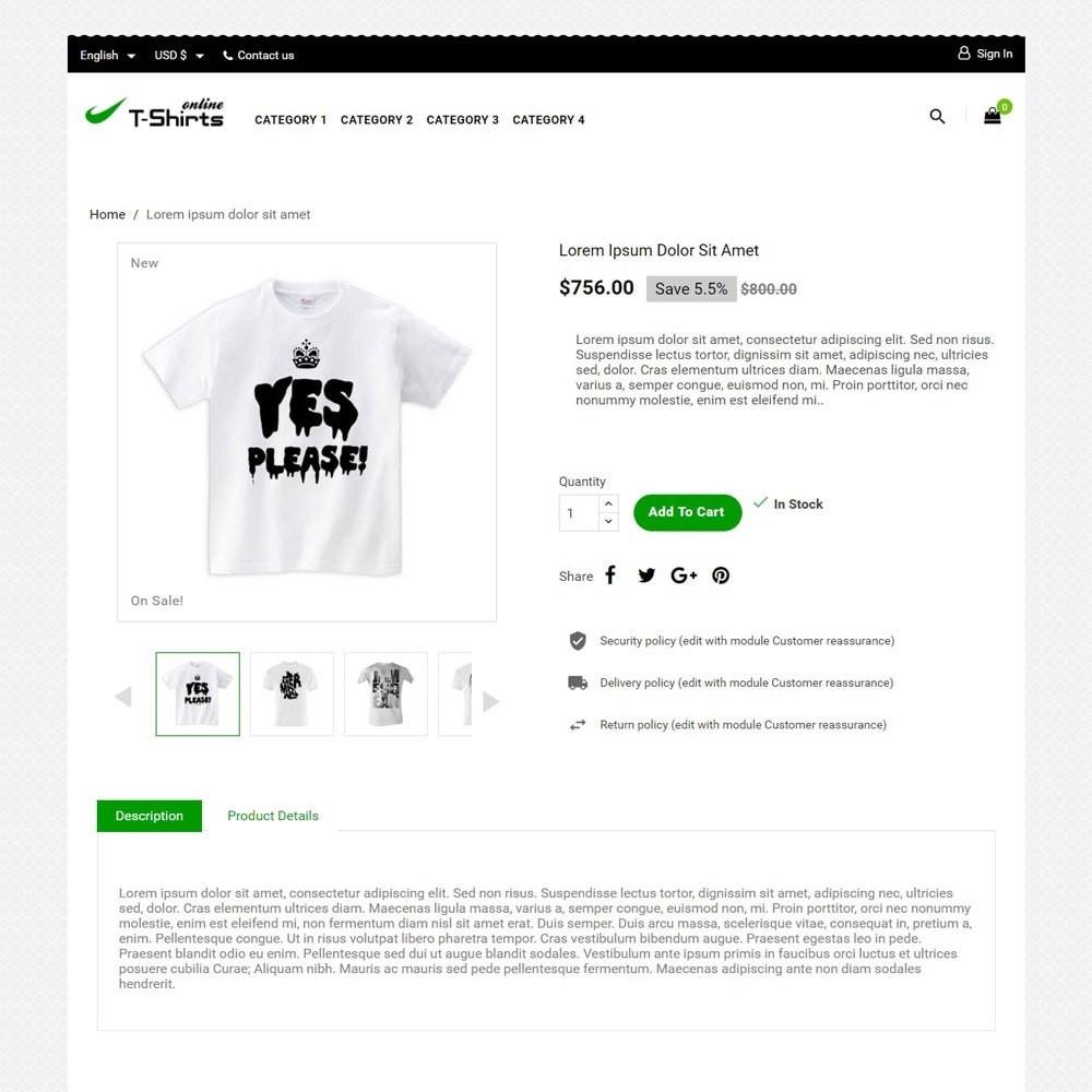 theme - Moda & Calzature - T-shirtsOnline - 3