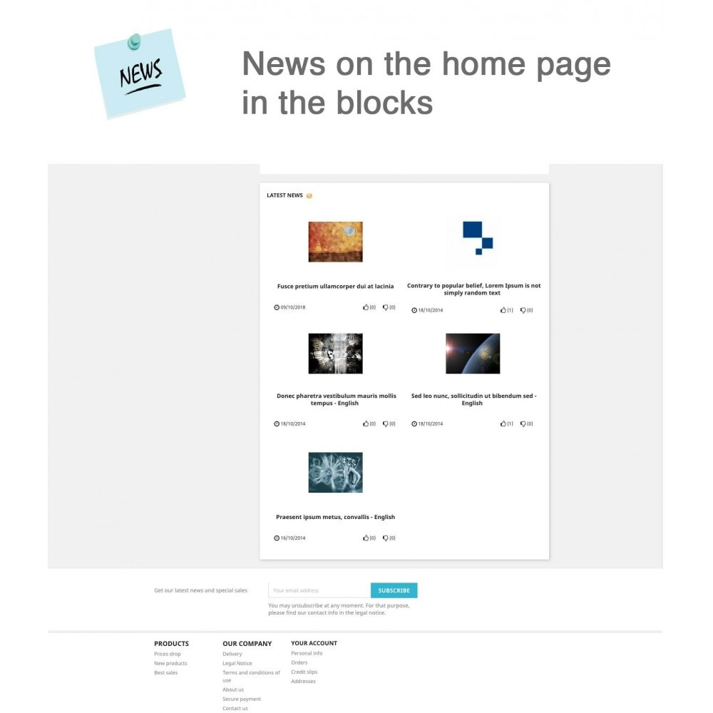module - Blog, Forum & News - News Advanced + Google Rich Snippets - 7