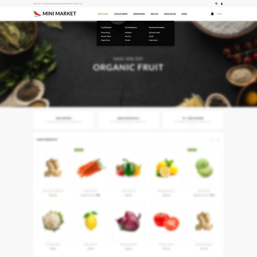 theme - Food & Restaurant - Minimarket - The Grocery Store - 8