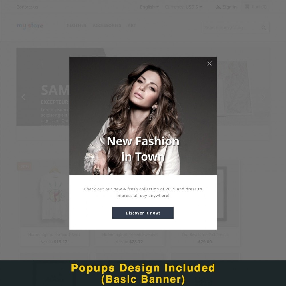 module - Promotions & Gifts - Smart Popup (Newsletter Popup) - 19
