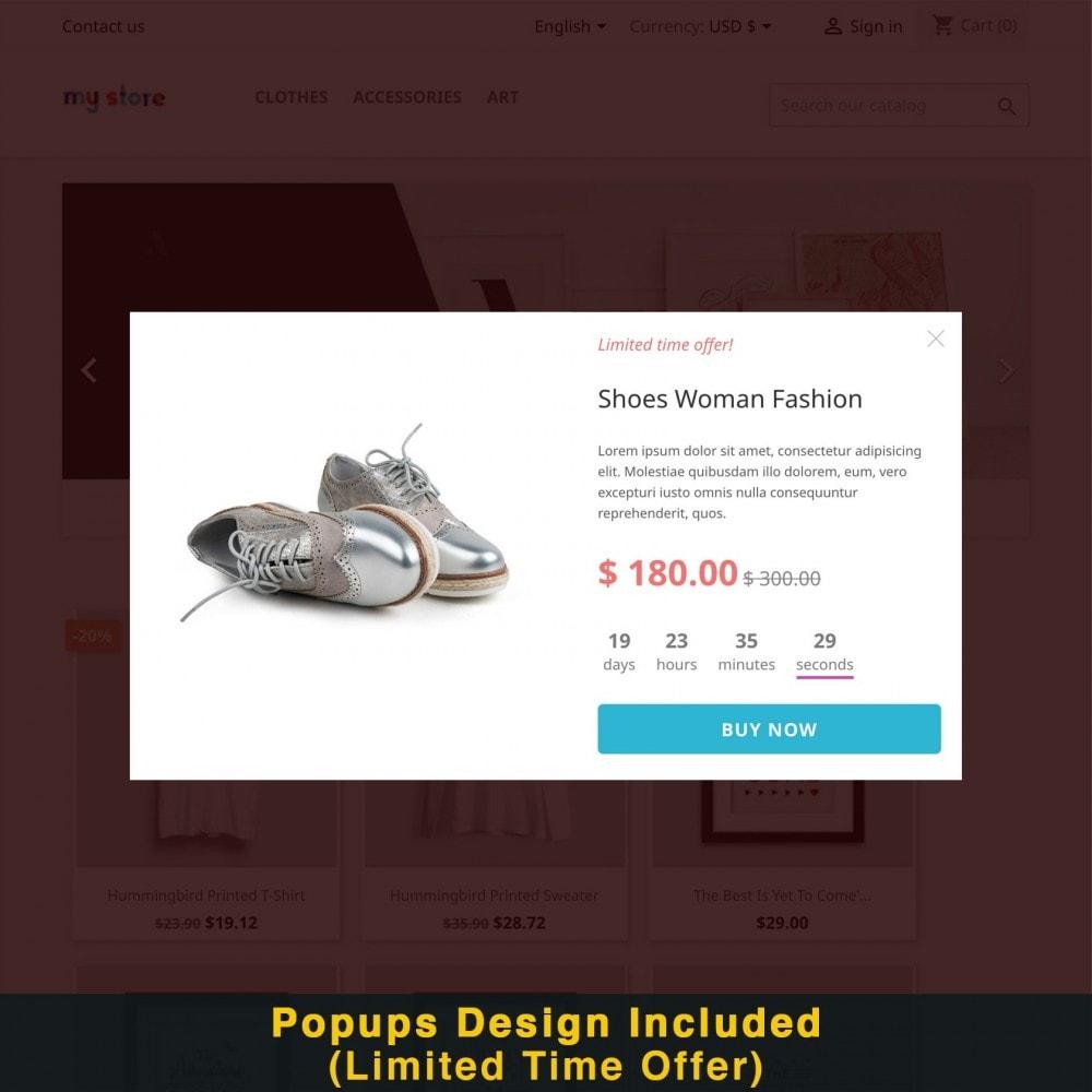 module - Promotions & Cadeaux - Popup Intelligent (Bulletin Popup) - 17