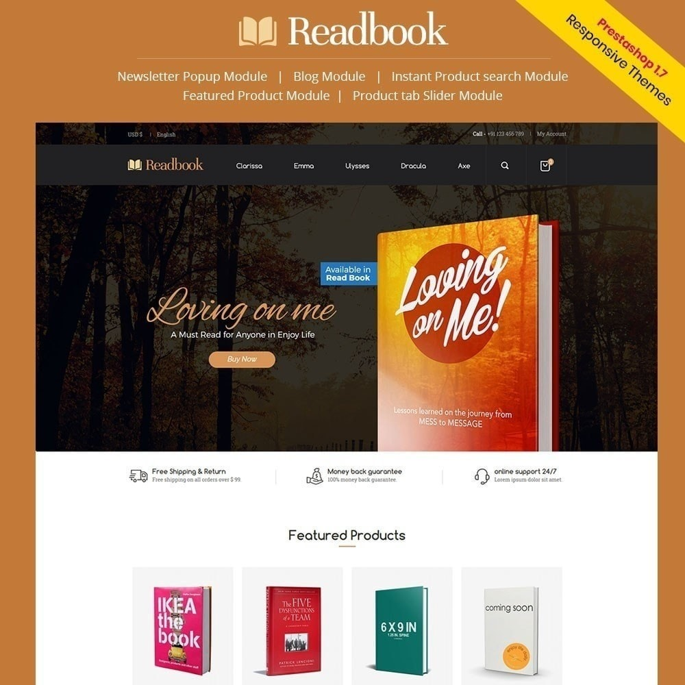 theme - Arte & Cultura - Readbook - Book Store - 2