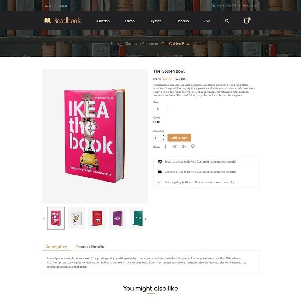 theme - Arte & Cultura - Readbook - Book Store - 5