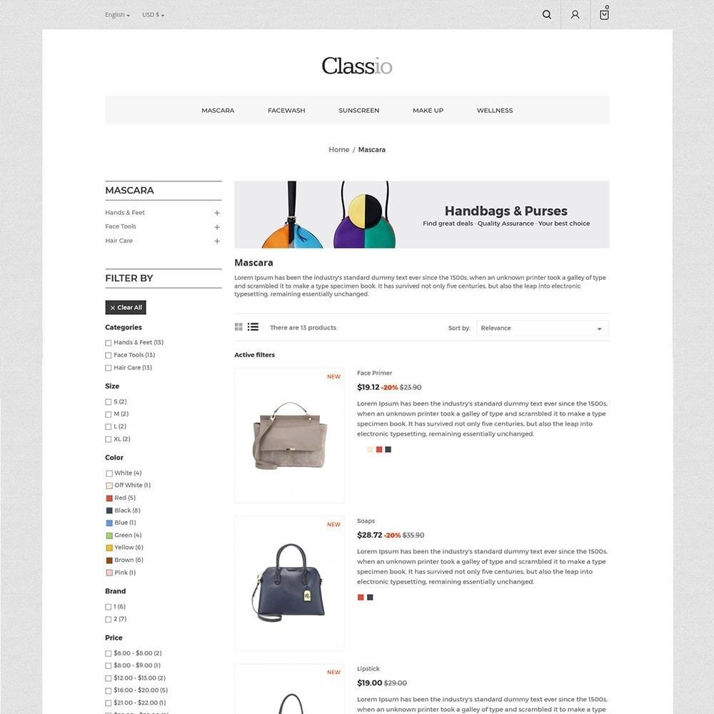 theme - Fashion & Shoes - Classio Bag - Fashion Store - 4