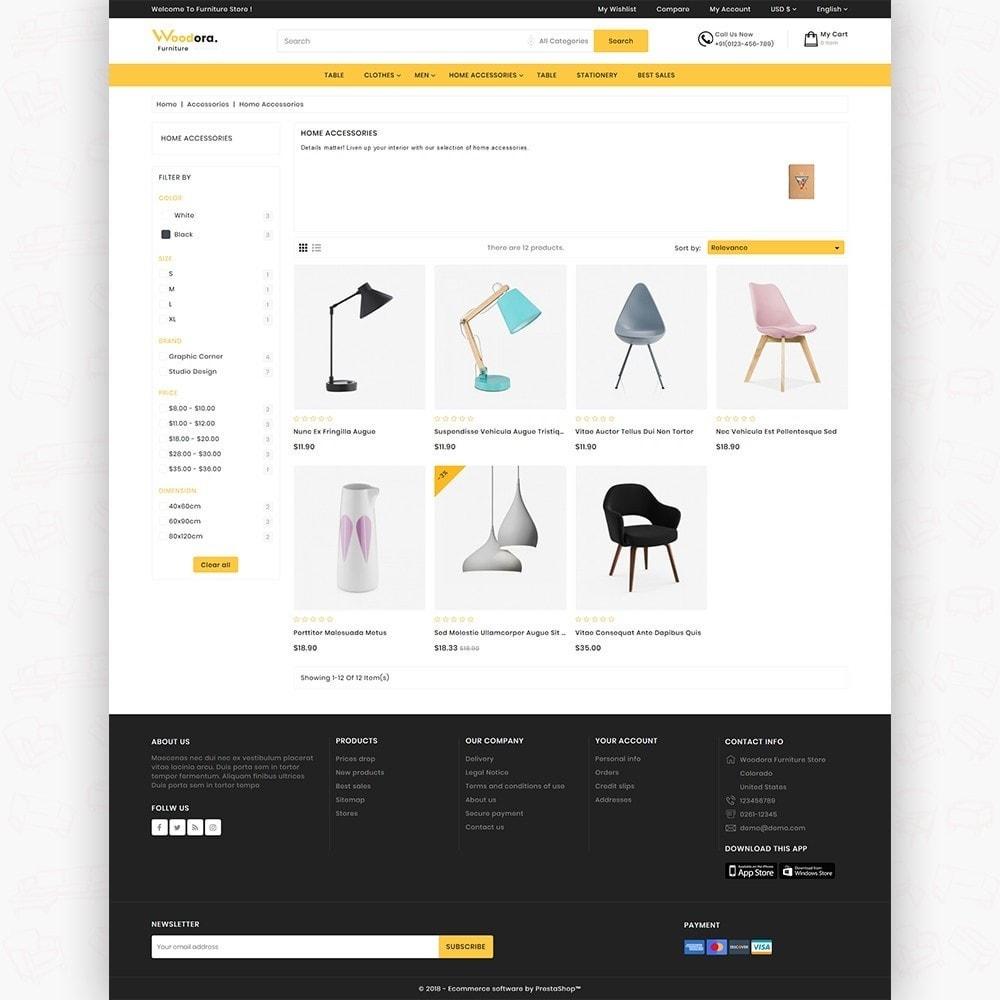 theme - Home & Garden - Woodora The Best Furniture Store - 3