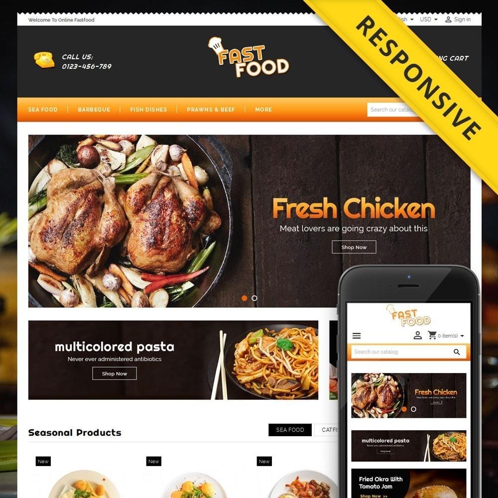 theme - Cibo & Ristorazione - Fast Food Shop - 1