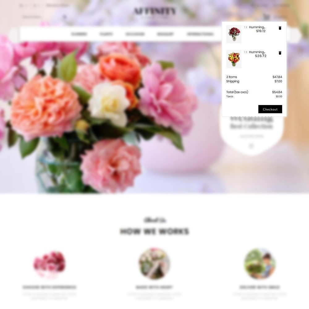 theme - Gifts, Flowers & Celebrations - Affinity Flower Store - 8