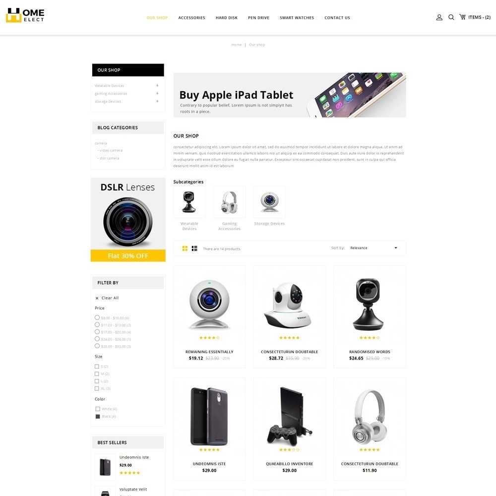 theme - Electronics & Computers - Homeelect - The Electronic Store - 4