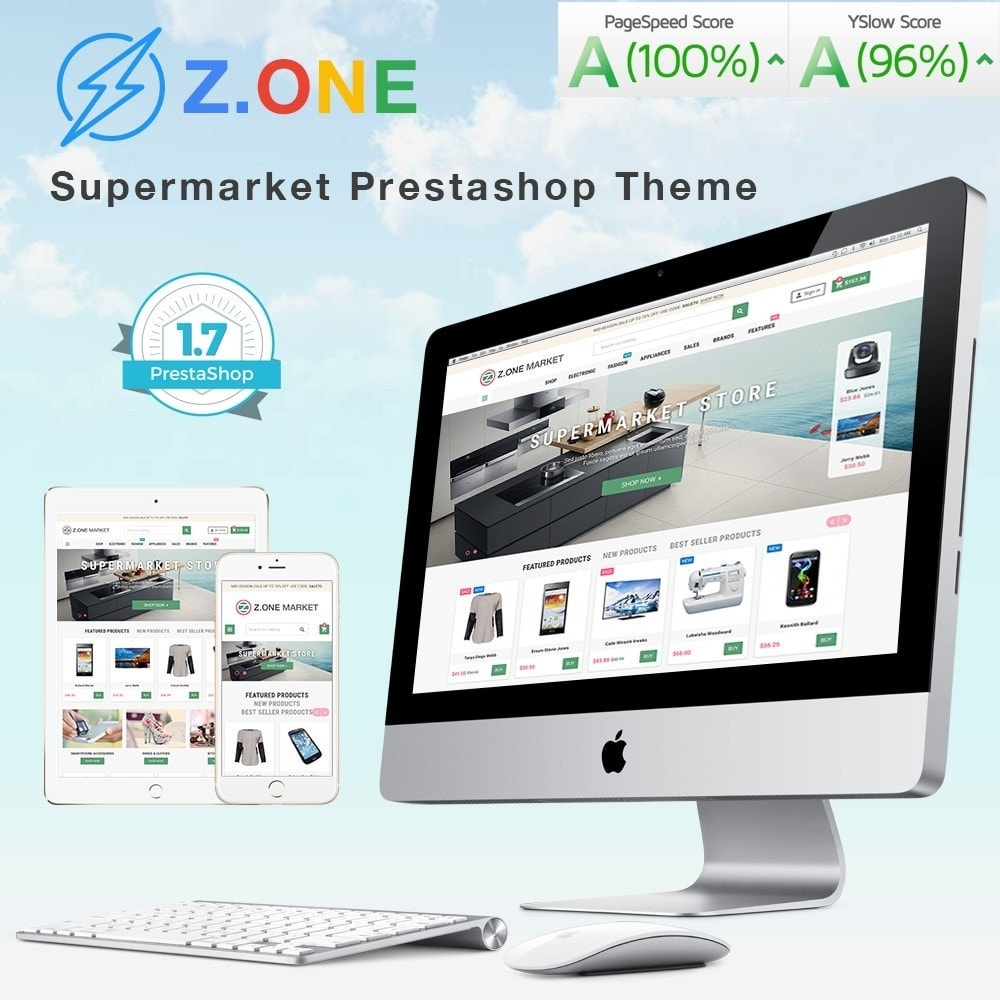 theme - Elektronika & High Tech - ZOne - Supermarket Online Shop - 1