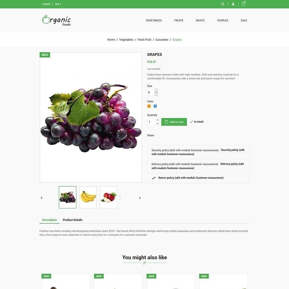 theme - Lebensmittel & Restaurants - Bio-Lebensmittelgeschäft - 6
