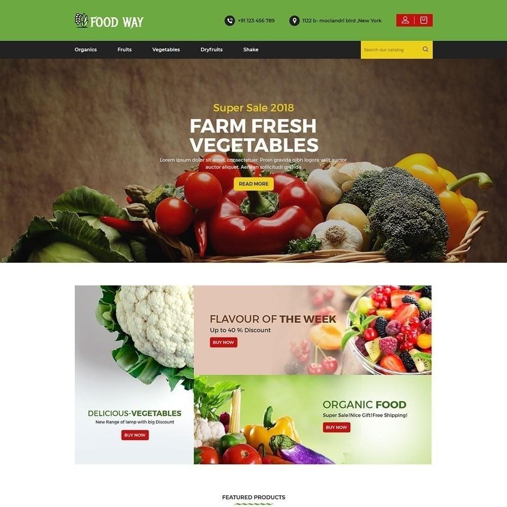 theme - Gastronomía y Restauración - Foodway tienda de alimentos - 2