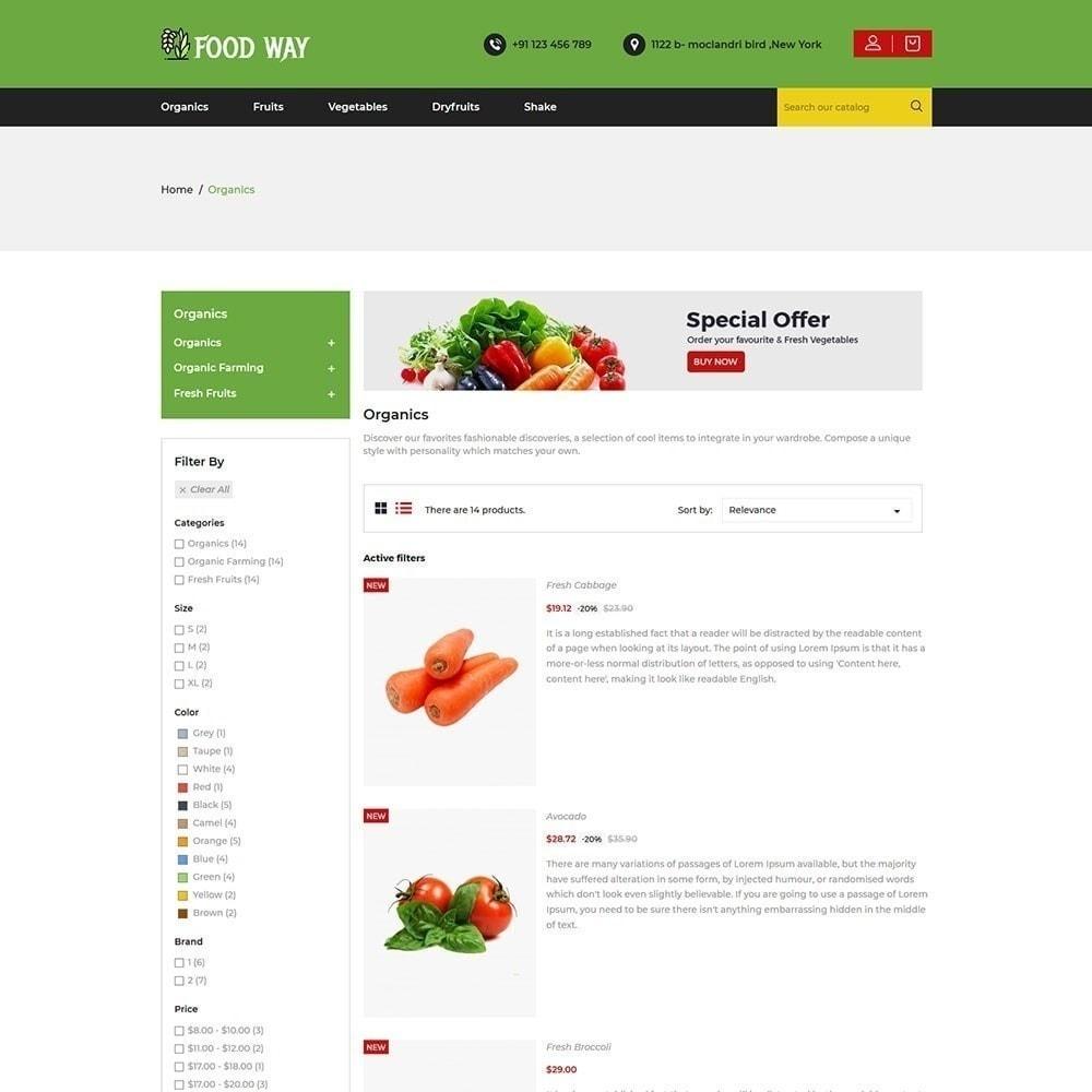 theme - Cibo & Ristorazione - Foodway Food Store - 5