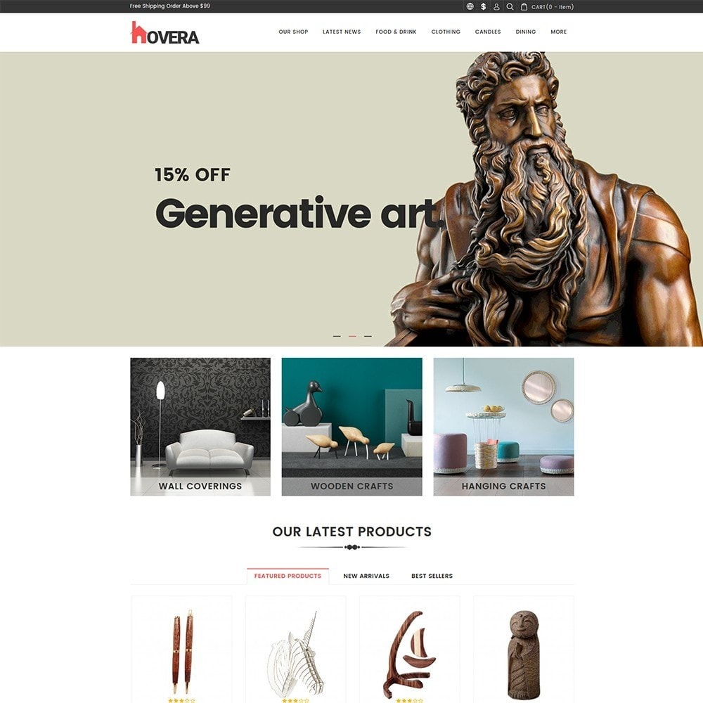 theme - Home & Garden - Hovera - The Home Decor - 3