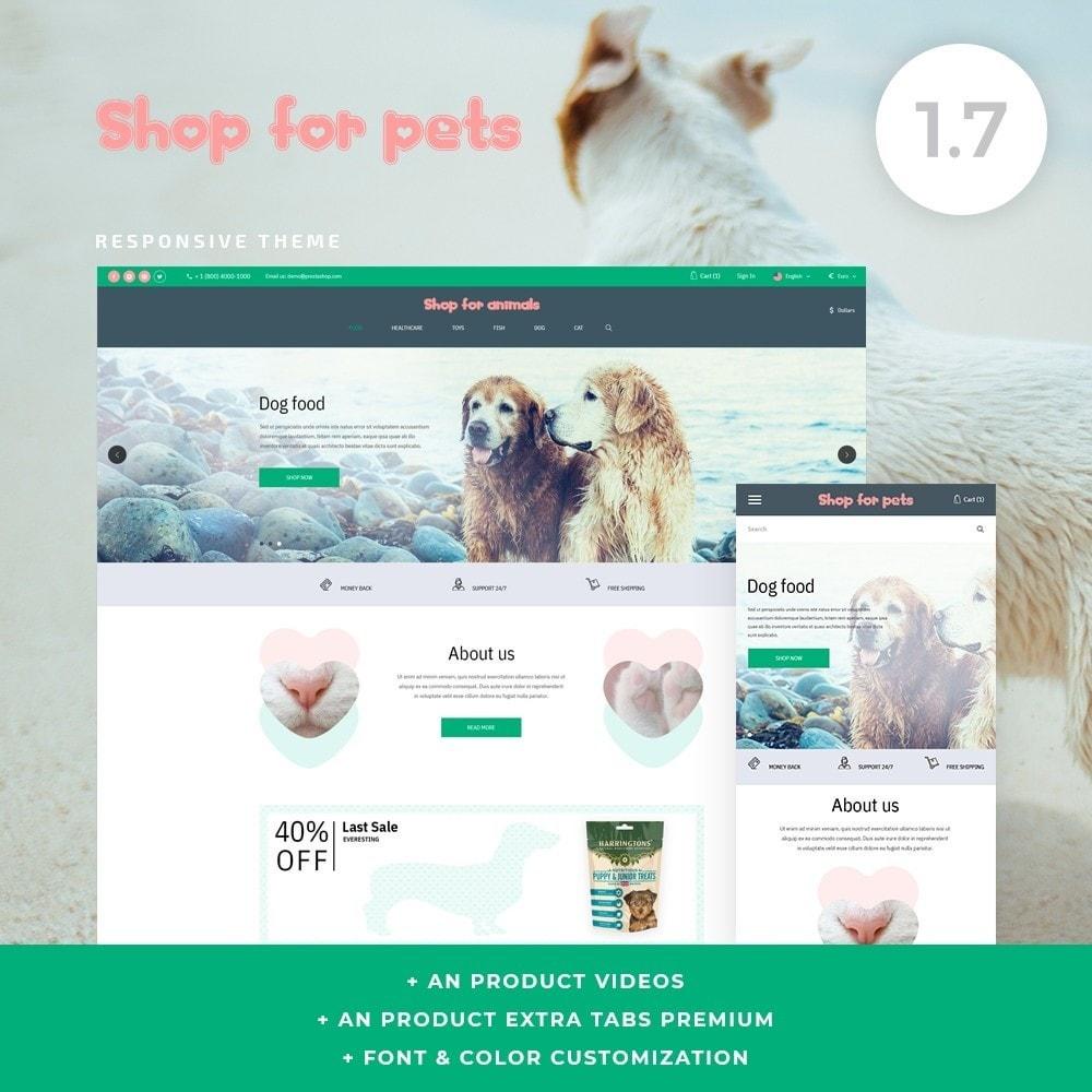 theme - Animais - Shop for pets - 1