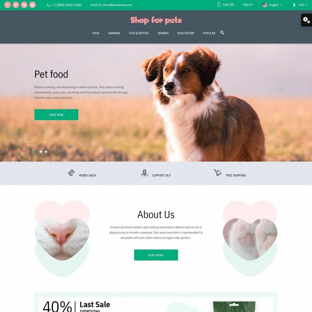 theme - Animais - Shop for pets - 2