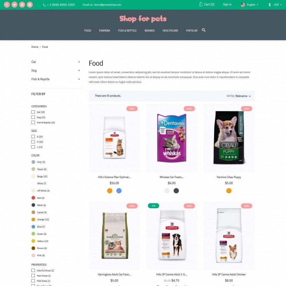 theme - Animais - Shop for pets - 5