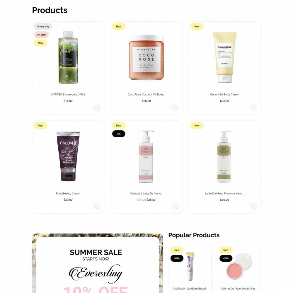 theme - Health & Beauty - Wild rose Cosmetics - 3