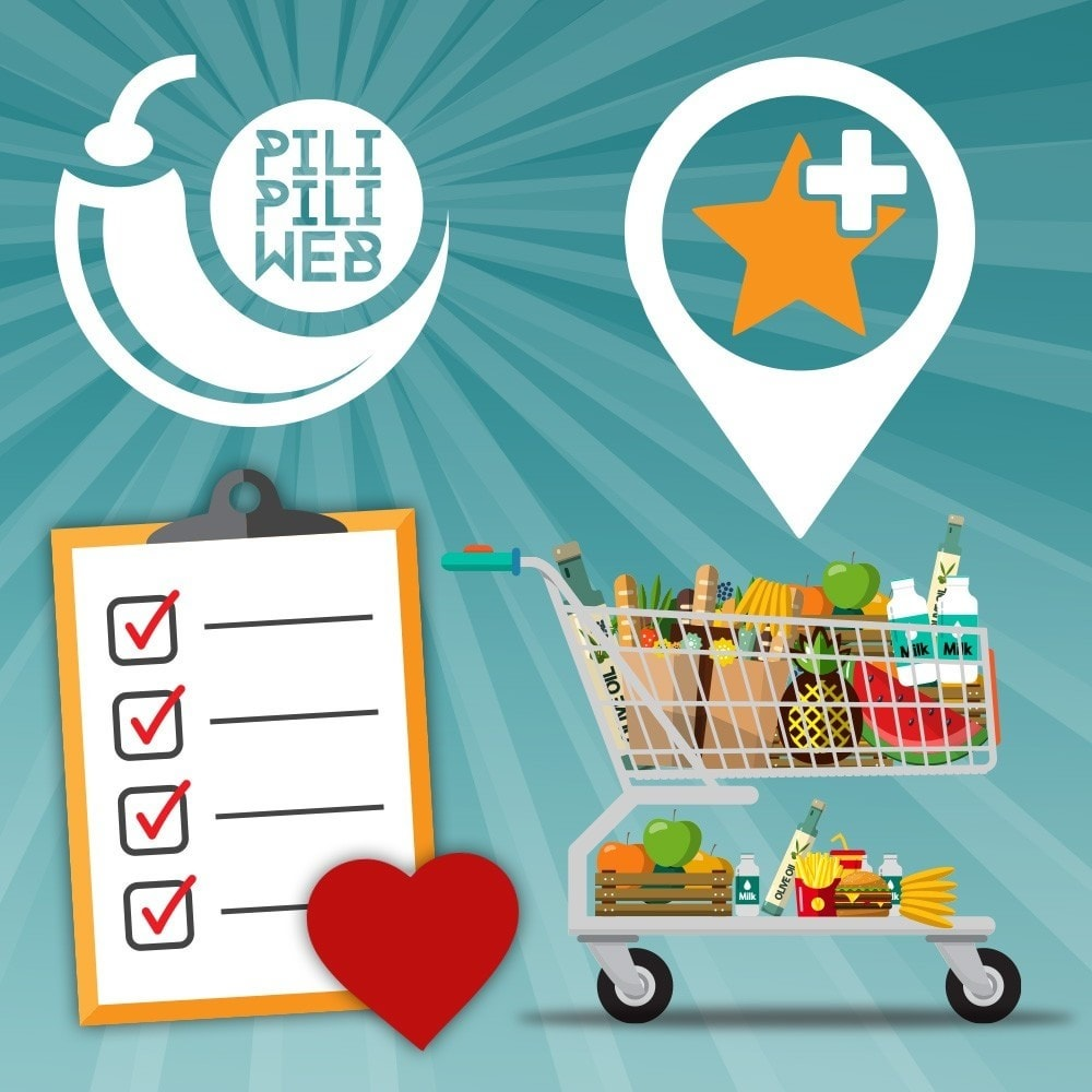 module - Information supplémentaire & Onglet produit - Liste de vos produits favoris / wishlist - 1