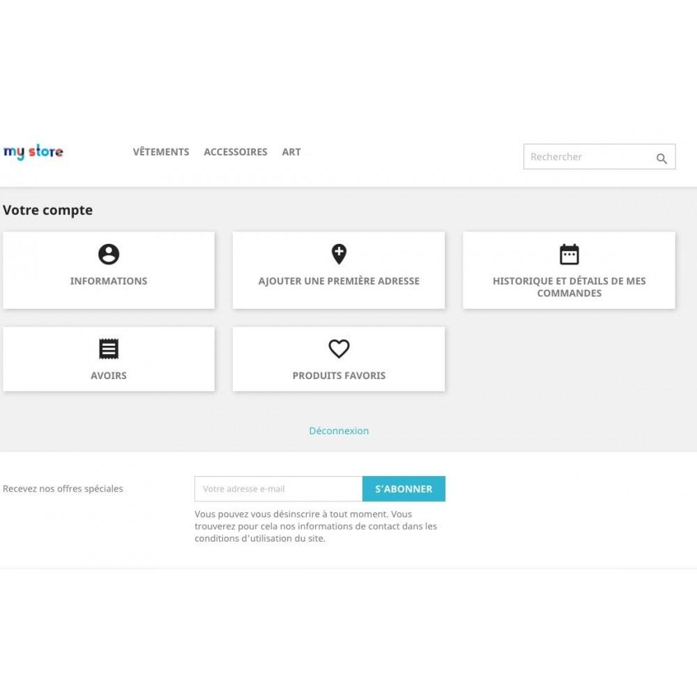 module - Information supplémentaire & Onglet produit - Liste de vos produits favoris / wishlist - 5