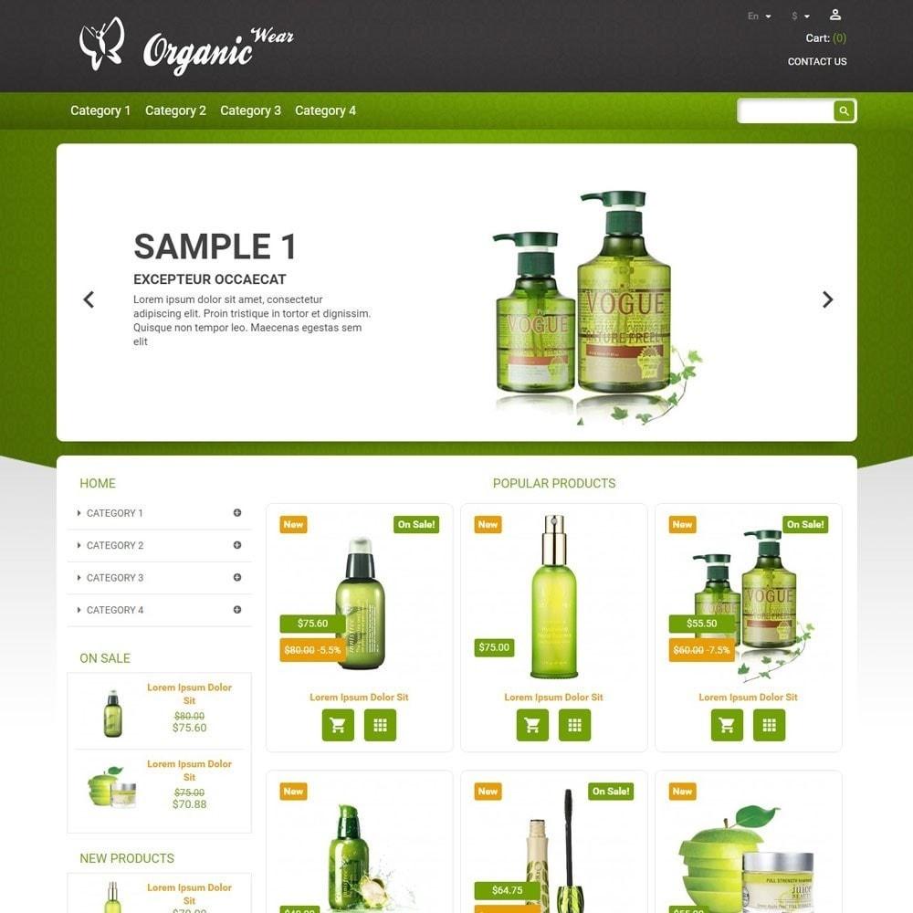 theme - Gesundheit & Schönheit - OrganicWear - 1