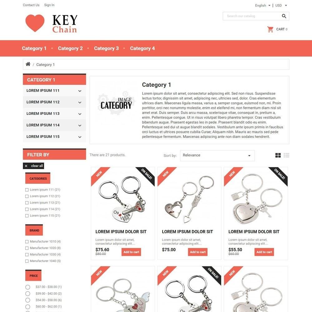 theme - Gifts, Flowers & Celebrations - KeyChain - 2