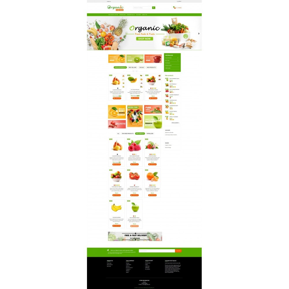 theme - Eten & Restaurant - Organic Fresh Naturals Multipurpose HTML5 - 5