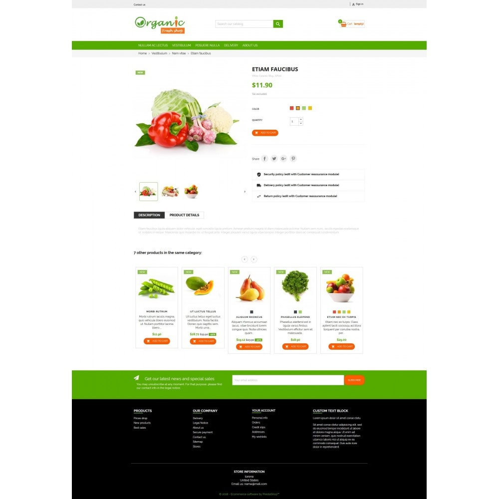 theme - Eten & Restaurant - Organic Fresh Naturals Multipurpose HTML5 - 8