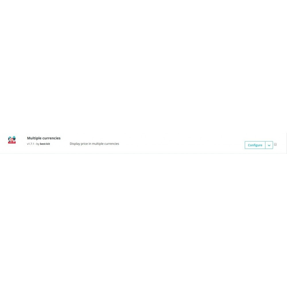 module - Internationalisierung & Lokalisierung - Multiple currencies - 3