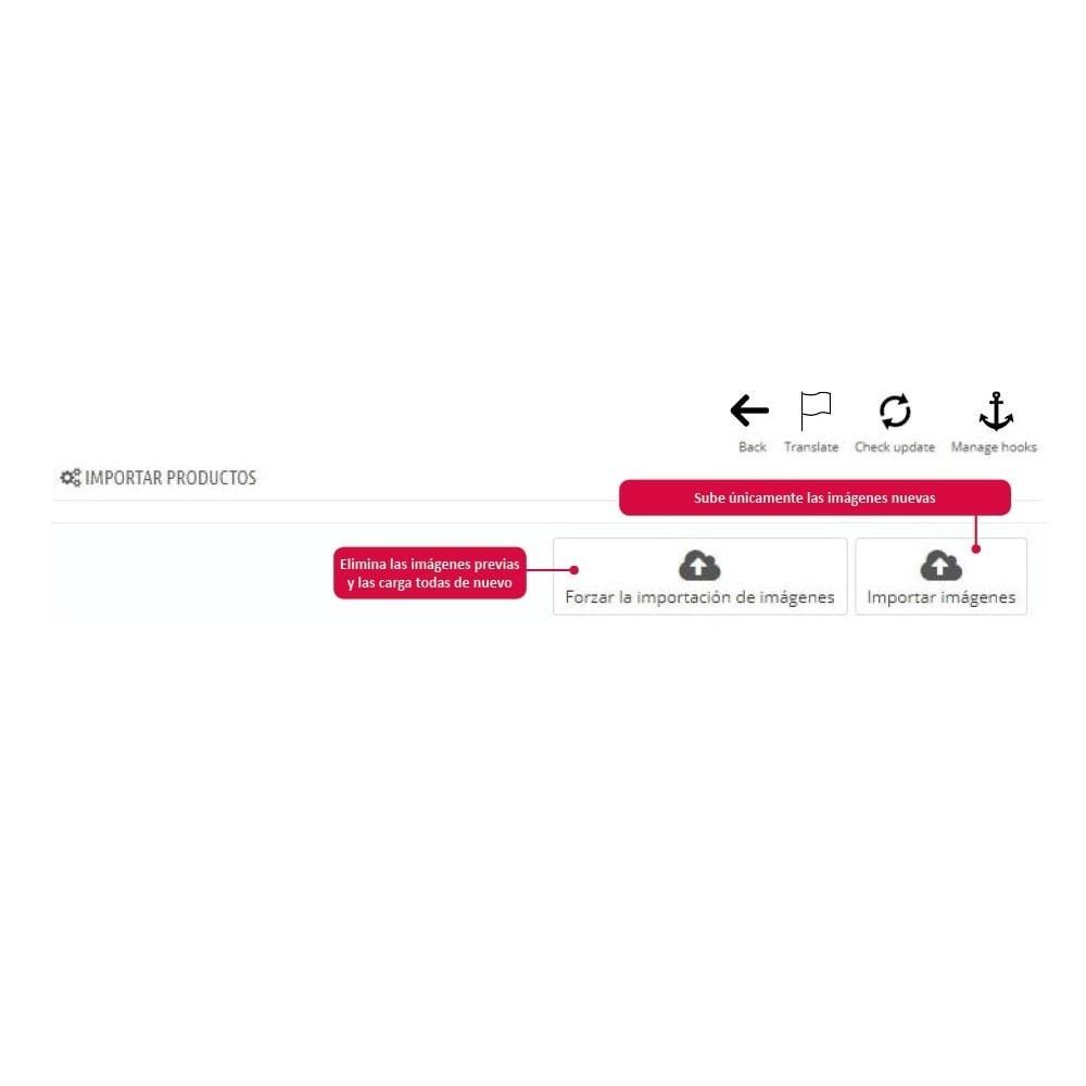 module - Informaciones adicionales y Pestañas - Importar Imágenes de Producto - 4