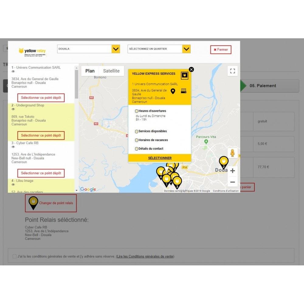 module - Transporteurs - Yellow Relay Transport ® Officiel - 2