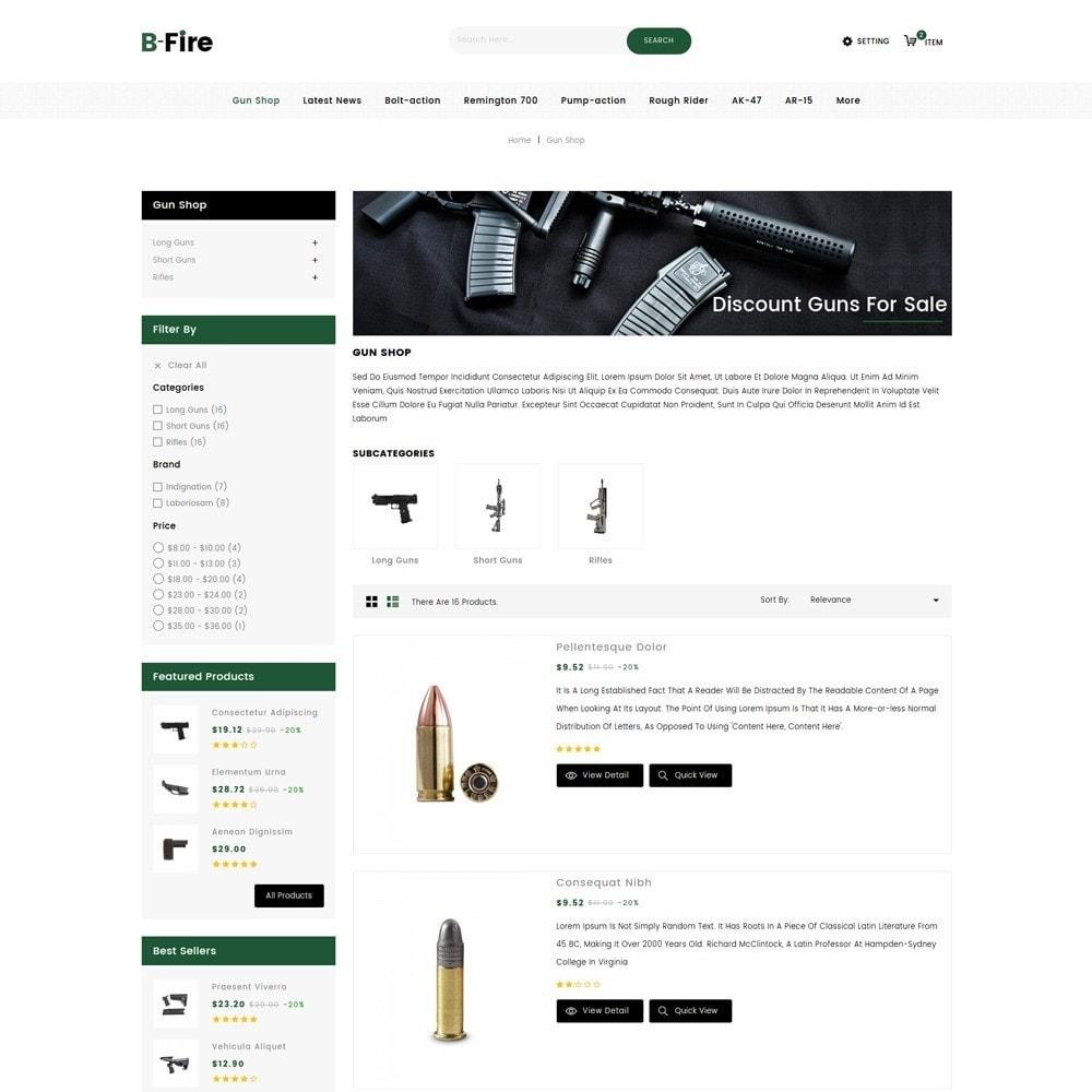 theme - Auto & Moto - Bfire Gun & Tools Store - 4