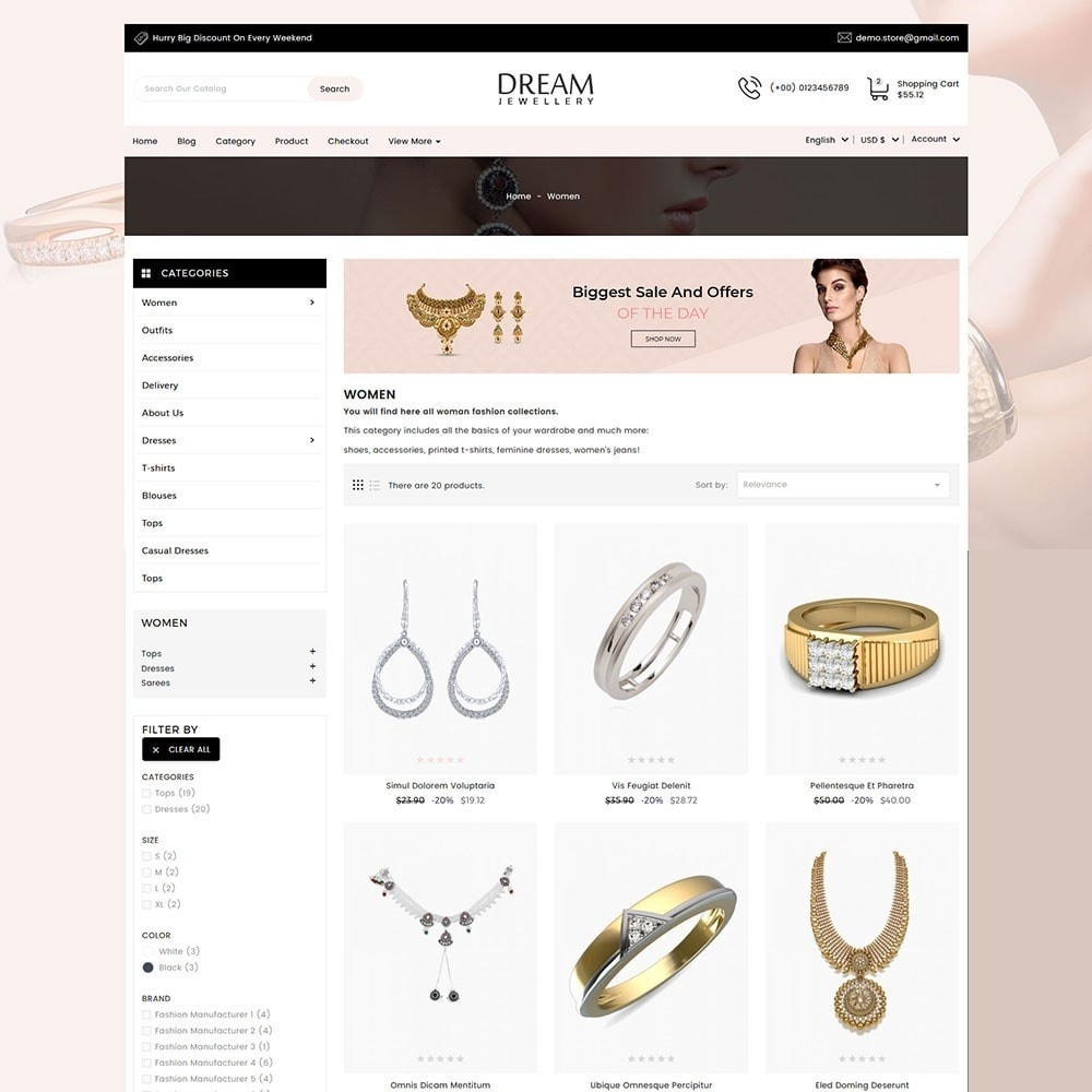 theme - Bellezza & Gioielli - Dream Jewellery - 5