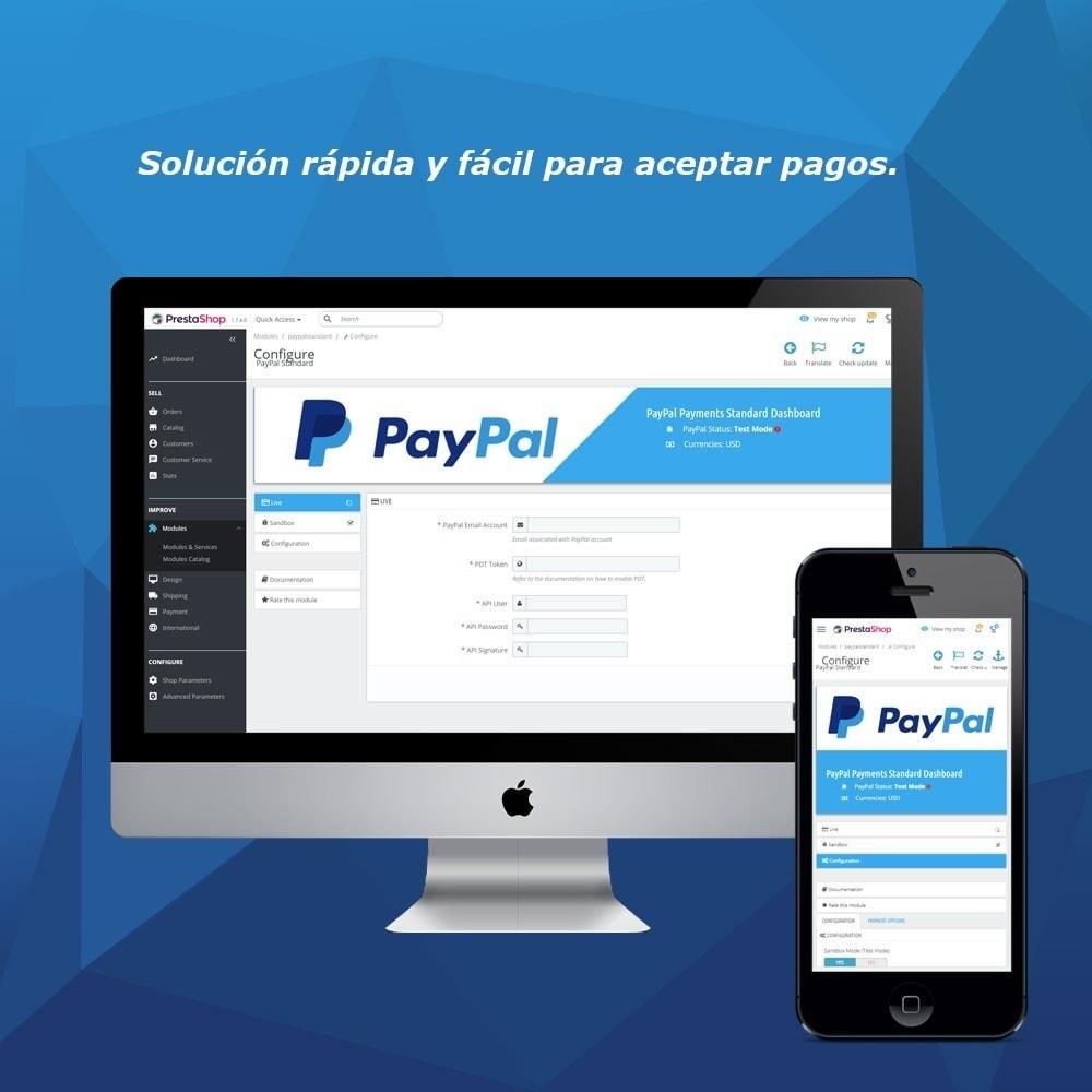module - Pago con Tarjeta o Carteras digitales - PayPal Standard - 1